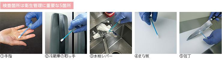 ダスキン衛生管理重要5箇所